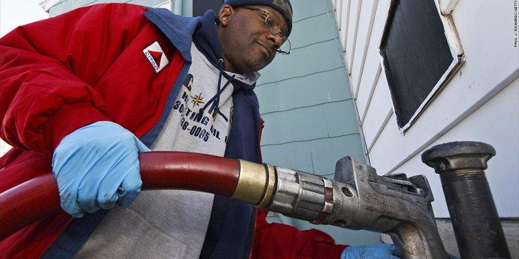 Liheap pumping gas oil