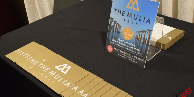 The Mulia Bali Resort at the Backstage Creations Official Emmys Gifting Suite for the 2016 Emmy Awards...