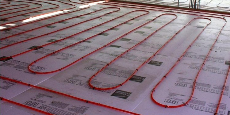 Image of: Solar Radiant Floor