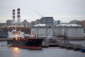 Oil tanker MS Sikinov, managed by Sikinos II Shipping Corp, refuels at a gas storage space center at Big Port of Saint-Petersburg in Saint Petersburg, Russia, on Monday, Oct. 17, 2016. Oil tanker rates jumped to a four thirty days high as dealers booked more cargoes for the season on record, offering indications that center East manufacturers might be adding drums into market prior to OPEC embarks on its deepest output slices in eight years. Photographer: Andrey Rudakov/Bloomberg