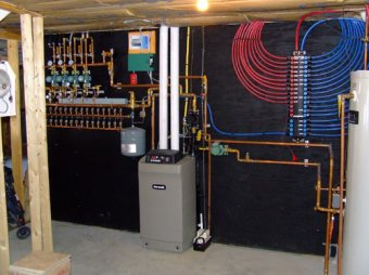 Propane Furnace for radiant-heat